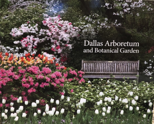 Beautiful coffee table book with gorgeous photographs on every page.  You will learn all about each garden area as well